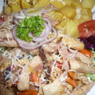 Míchané maso se zeleninou recept
