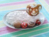 Beránek z ořechového těsta se sněhovou čepicí recept ...