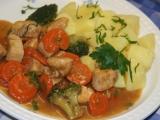 Kuřecí prsíčka s mrkví a brokolicí recept