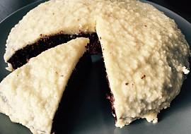 Kokosovo-kávový koláč recept