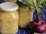 Sterilované kedlubny na dušené zelí recept