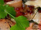 Zapečené gnocchi s vepřovou panenkou, hříbky a sušenou šunkou ...