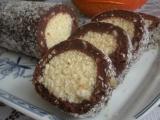 Nepečená kokosová roládka recept