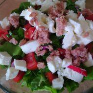 Míchaný salát s tuňákem a mozzarellou recept