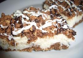 Kokosovo tvarohový koláč  strouhaný recept