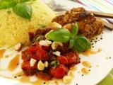 Kuskus s rajčaty a kuřecím recept