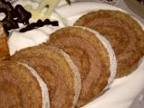 Ořechová roláda bez mouky recept