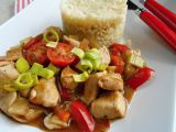 Kuřecí se zeleninou a bulgurem recept