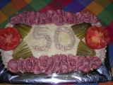 Chlebový dort k narozeninám recept
