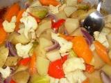 Pečená zelenina recept