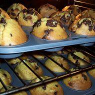 Výtečné muffiny s kousky čokolády recept