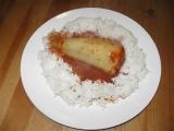 Králičí plněné papriky recept