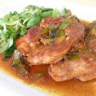 Marinovaný kuřecí steak recept