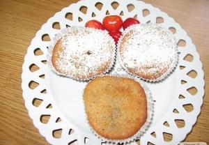 Třešňovo-čokoládové muffiny