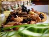 Kuřecí maso se sušenými švestkami recept