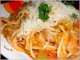 Pikantní špagety s hlívou ústřičnou recept