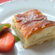 Listový koláč s tvarohem recept