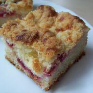 Maminčin švestkový koláč recept
