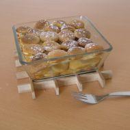 Žemlovka z piškotů recept