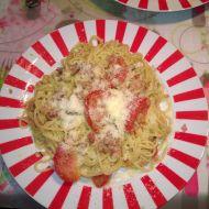 Italské špagety ala pesto recept