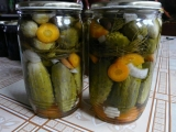 Zavařené okurky bez vaření nálevu recept