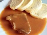 Hovězí plátky na česneku recept