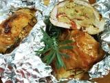 Kuřecí kapsa v alobalu recept