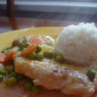 Kuřecí maso na zelenině s rýží recept
