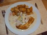 Ryba s bílou omáčkou recept