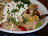 Kuskus s kuřecím na nudličky a zeleninou recept