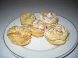 Karamelové větrníky recept
