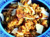 Risotto s karamelizovanou cibulí a liškami recept
