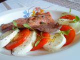 Pstruh lososovitý na červeném víně a smetaně recept