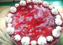 Nepečený smetanový dort recept