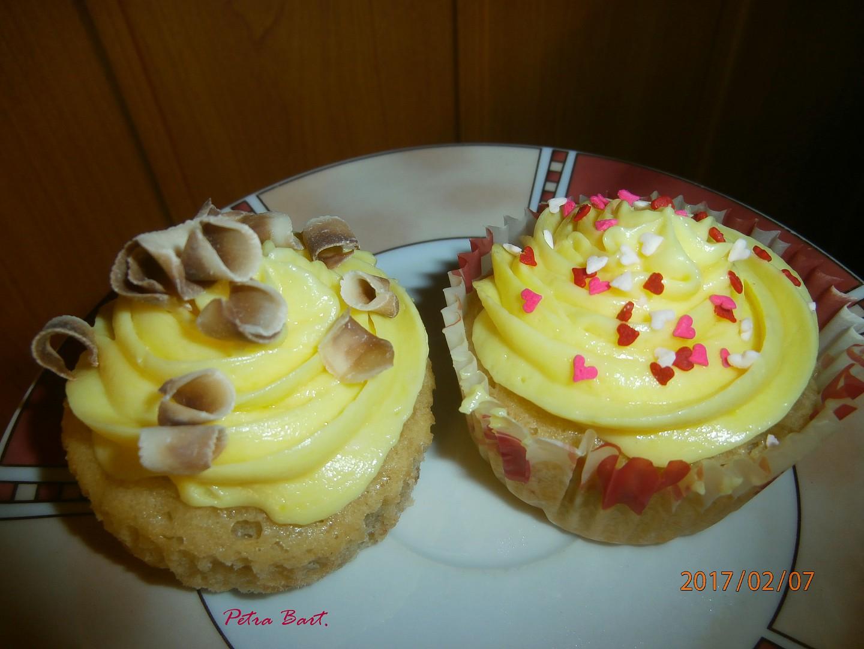 Banánové cupcakes recept