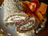 Mandlová roláda recept