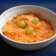 Mrkvový salát s mandlemi recept