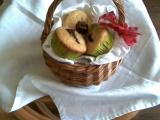 Muffinky s ovocem a čokoládou recept