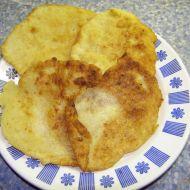 Zlatavé bramborové placky recept