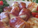Grilované mušle svatého Jakuba ve slanině i bez.... recept ...