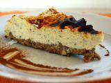 Cheesecake z cizrnového těsta recept
