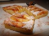 Voňavý tvarohový koláč s jablky recept