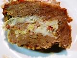 Sekaná plněná Nivou a smaženými vejci na slanině recept ...