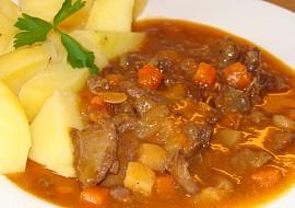 Srnčí směs (ragú) na zelenině recept