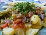 Pestrý zeleninový talíř recept