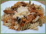 Vepřové nudličky s těstovinami recept