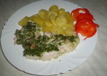 Pangasius zapečený se zeleninou recept