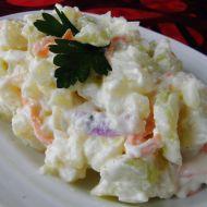 Dietní bramborový salát s celerem recept