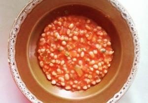 Míšovy fazole v tomatu