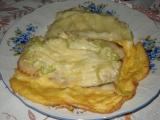 Mořská štika pod vaječnou peřinkou recept